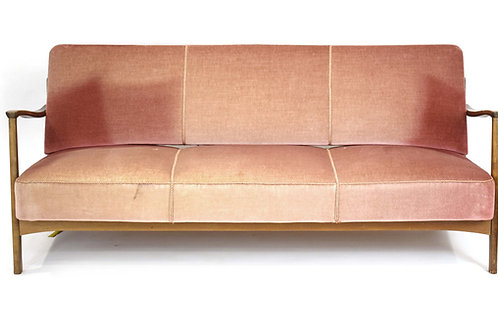 Sofa Danish Design 1960s (attributed to Soren Hansen for Fritz Hansen)