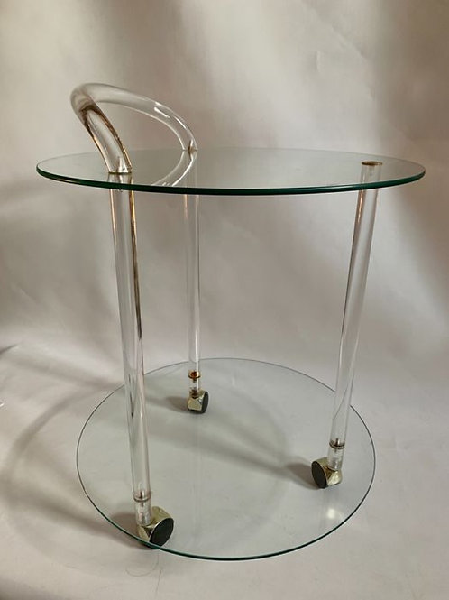 Serving trolley in the style of Charles Hollis Jones
