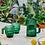 Thumbnail: Green Glass Saguaro Coffee Cups