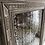 Thumbnail: 19th Century French Empire heavily foxed French Grey painted mirror