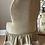 Thumbnail: Vintage Button Back Dralon Boudoir Low Height Bedroom Chair