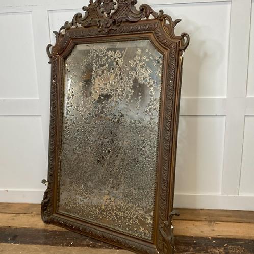 19th Century French Decorative Mirror