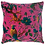 Cerise Bird Of Paradise Cotton Velvet Cushion 1