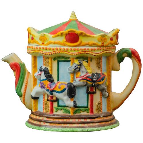 Leonardo Collection Annie Rowe Fairground Carousel Teapot 1