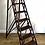 Antique Wooden Decorators Ladder full 2