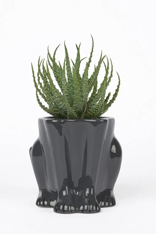 Ceramic Plant Pot Panther