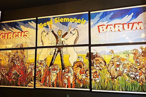 Stunning large poster of Circus Barum