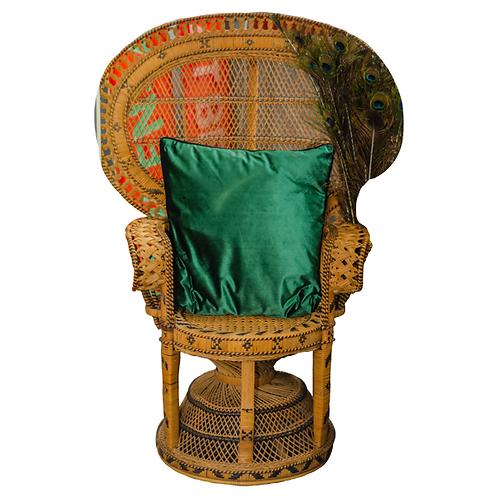 'Biba' Rattan Peacock Chair 1