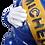 Thumbnail: Original Michelin Bibendum Man (Blue / Black) (Circa 1960s)