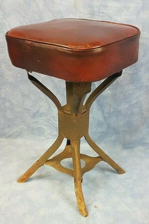 Vintage industrial Evertaut machinist's stool