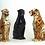 "Thumbnail: ""Faience"" Ceramic leopard & panther medium"