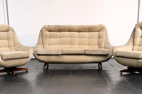 Iconic Rare Magnificent mid-century sofa suite Greaves and Thomas