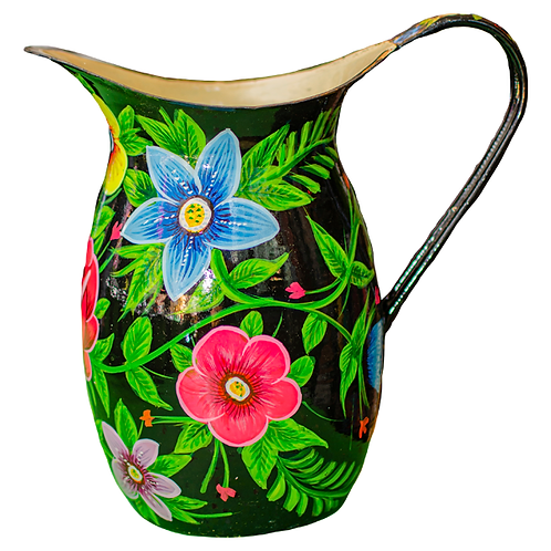 Stunning Enamel jug 8