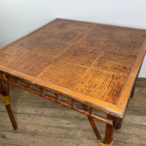1920's Bamboo Table