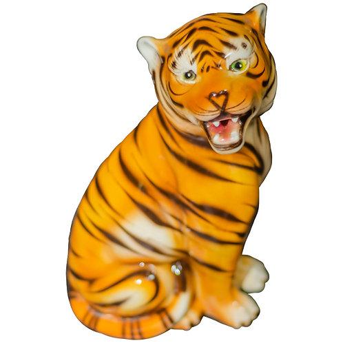 Stunning Vintage Ceramic Tiger 1