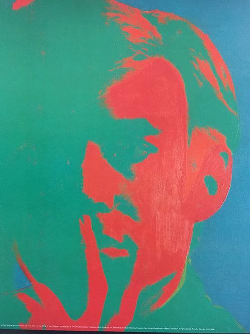 Andy Warhol Self Portrait Green full 1