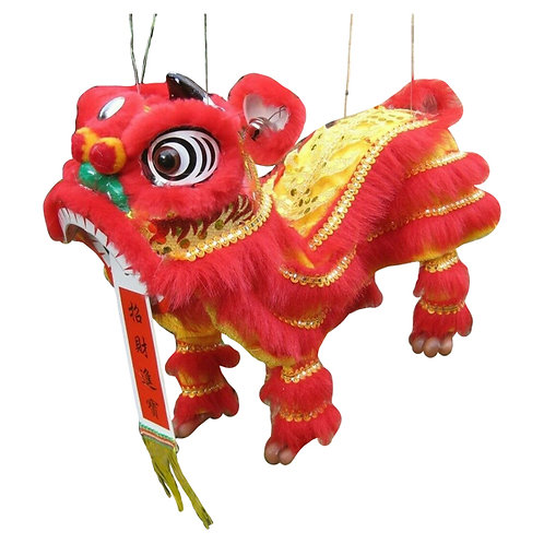 Chinese Dragon Foo Dog Marionet 1