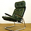 Thumbnail: Chrome and Leather Mid Century Lounge Armchair