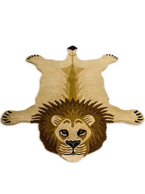 Moody Lion Rug Large