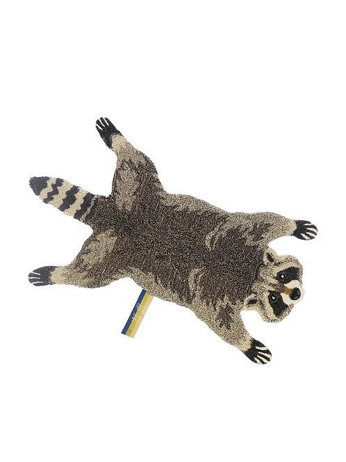 ROCKY RACOON RUG SMALL