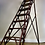 Antique Wooden Decorators Ladder bottom 1