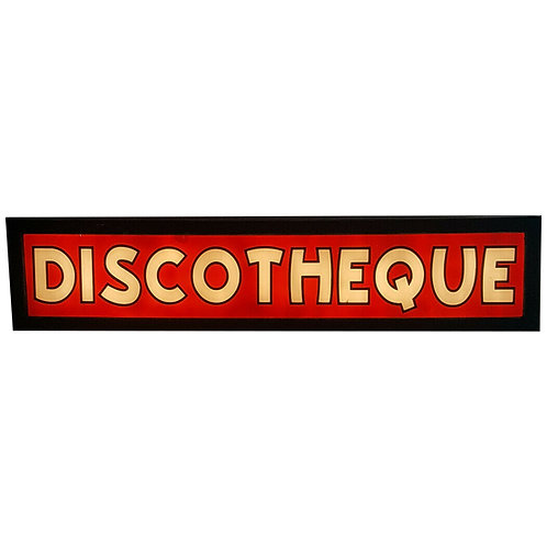 Very Large Discotheque Illuminated Sign 1