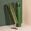 Thumbnail: Set of 2 Green Wood Cacti Salt and Pepper Grinders