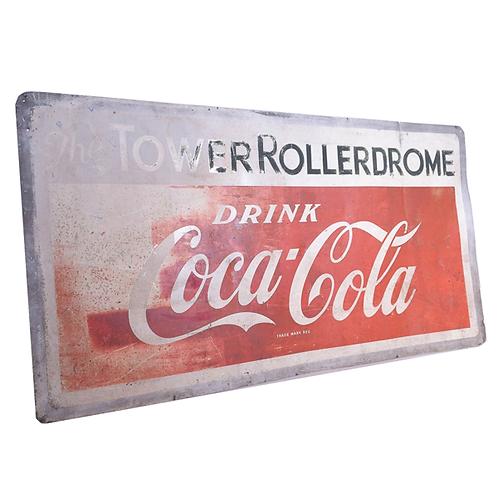 Coca Cola Advertising Sign full 1