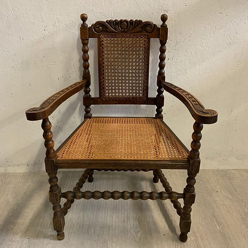 Original Barley Twisted Office / Country House Chair