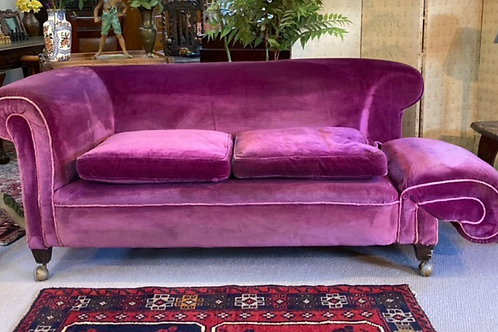 Luxurious Late Victorian / Early Edwardian Country House Two-Seater Sofa