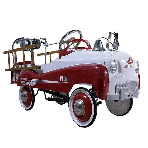 Fire Truck Pedal Car full 1