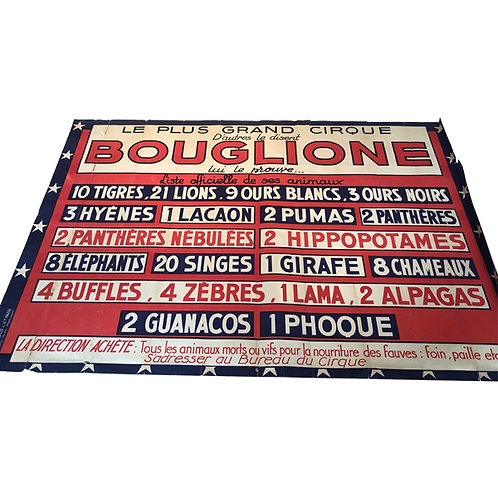 Bouglione Circus Poster 1