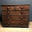 Thumbnail: Georgian English solid oak chest of draws
