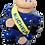Thumbnail: Michelin Bibendum Man (Blue / Brown) (Circa 1960s)
