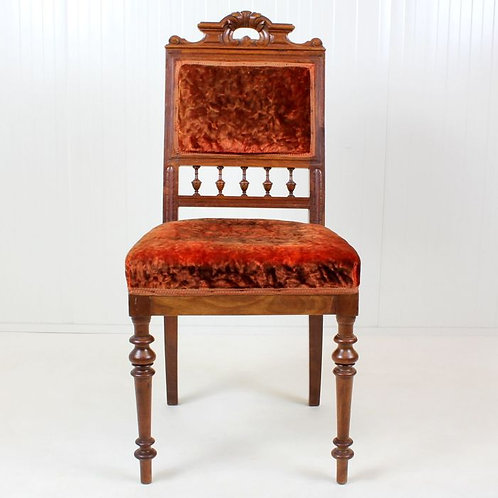 Beautiful Occasional / Gentleman's Chair France 1850 1899
