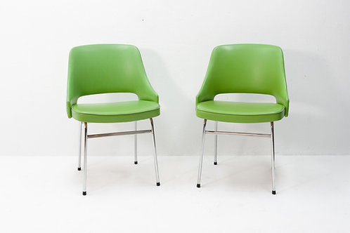 FM32 PVC Side Chairs by Cees Braakman for Pastoe, 1974, Set of 2
