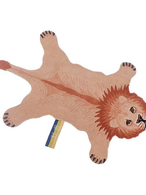 PINKY LION RUG SMALL