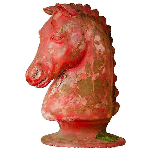 Large decorative horse head 1