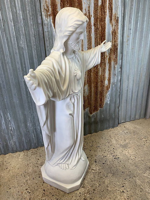4ft bonded marble statue of Jesus