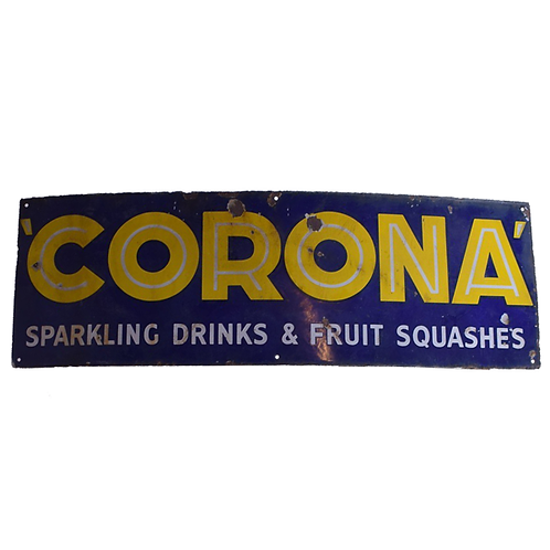 Corona Lemonade Enamel Sign 1