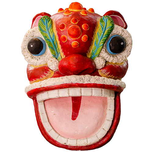 Chinese Dragon Head Decoration