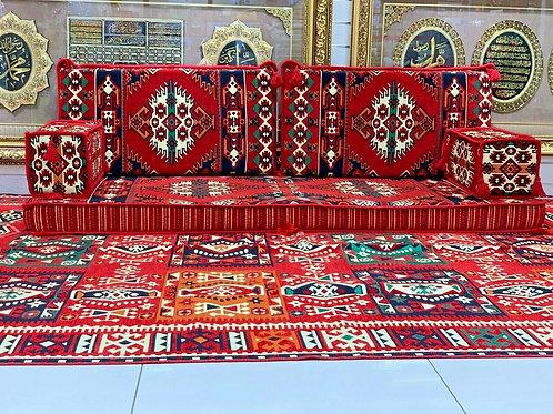 Arabic Majlis Sofa / Ottoman & RUG