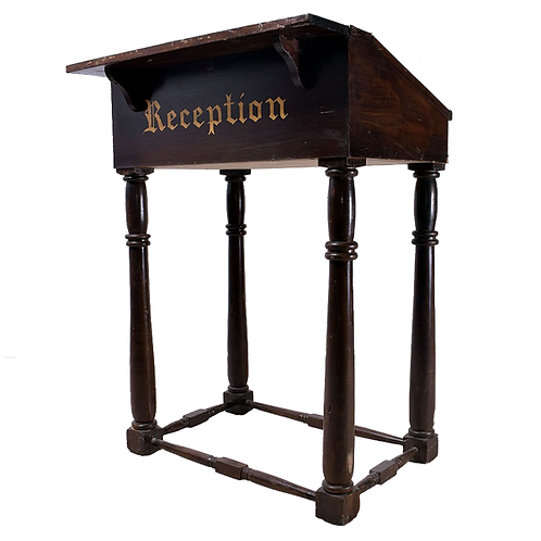 Vintage Reception Desk full 1