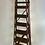 Antique Wooden Decorators Ladder folded 1