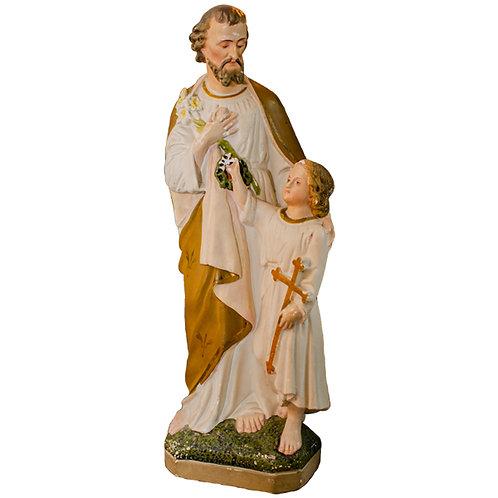 St Joseph and Jesus Statue