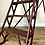 Antique Wooden Decorators Ladder close 1