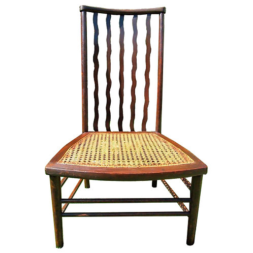 Antique Bergere seated Chair 1