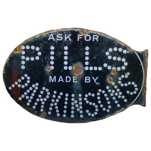 Pills by Parkinson's Enamel Sign 1