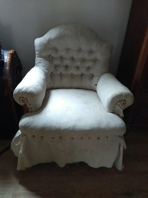 Antique French Napoleon III Chair