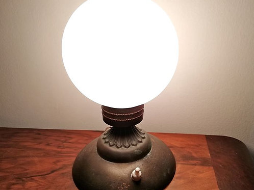 An original antique table lamp